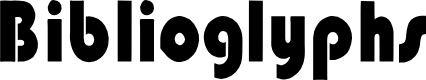 Preview image for Biblioglyphs Font