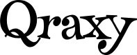 Preview image for Qraxy Font