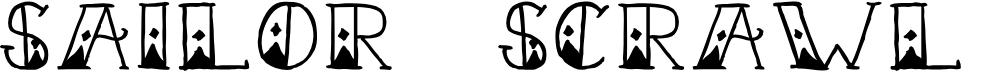 Preview image for Sailor Scrawl Fancy Regular Font