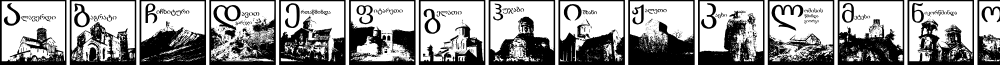 Thart_OldGeorgianArchitecture font