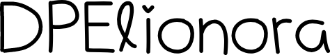Preview image for DPElionora Font