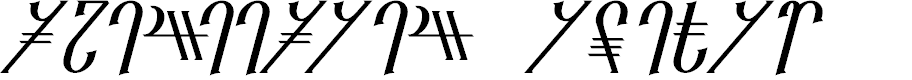 Preview image for Reanaarian Italic