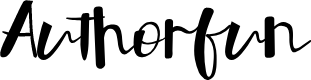 Preview image for Authorfun Font