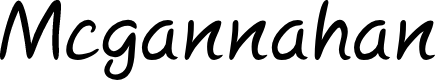 Preview image for Mcgannahan Font
