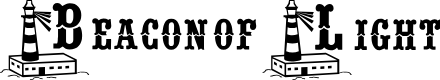Preview image for BJF Beacon of Light Font