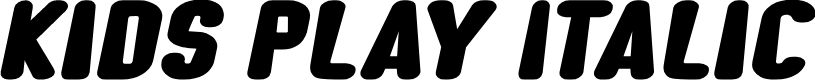 Preview image for Kids Play Italic