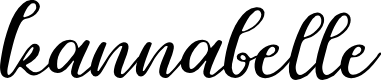 Preview image for kannabelle Font