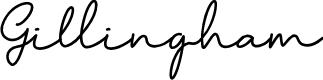 Preview image for Gillingham Font
