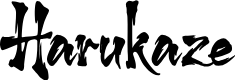 Preview image for Harukaze Solid Font