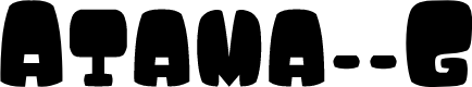 Preview image for Atama__G Font