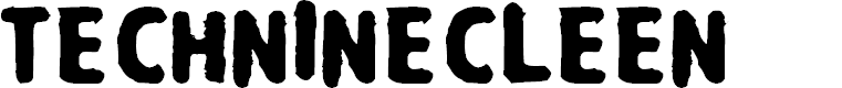 Preview image for Techninecleen Font