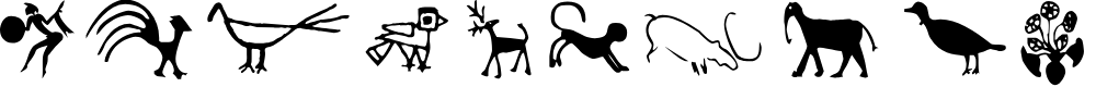 Preview image for CavePaintingDingbats