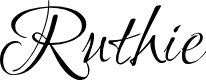 Preview image for Ruthie Font
