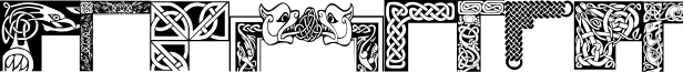 Celtic Frames font