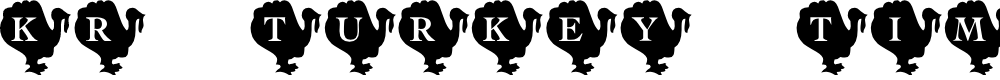 Preview image for KR Turkey Time Font