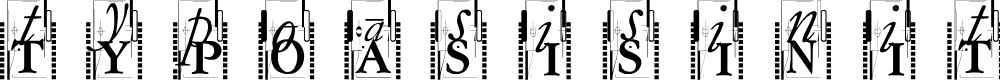 Preview image for TypOasisInitials Font