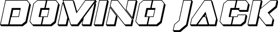 Domino Jack 3D Italic Italic