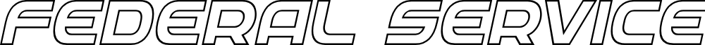 Federal Service Outline Italic