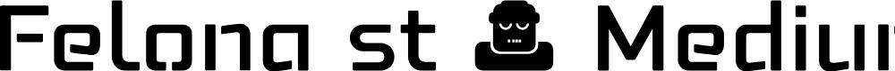 Preview image for Felona st Medium Font