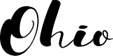 Preview image for Ohio Font