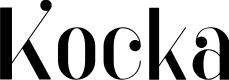 Preview image for Kocka Font