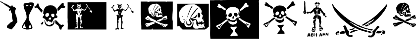 Preview image for pirates pw Font