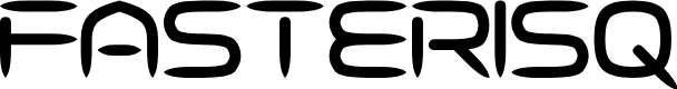 Preview image for Fasterisq Font