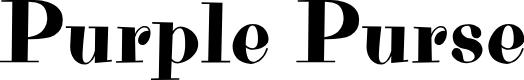 Preview image for Purple Purse Font