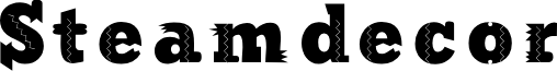Steamdecor Regular font