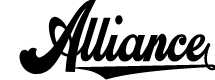 Preview image for Alliance Personal Use Font