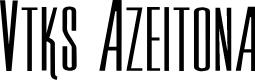 Preview image for Vtks Azeitona Font
