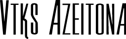 Preview image for Vtks Azeitona Font