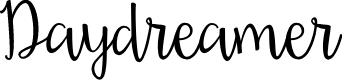 Preview image for Daydreamer Font