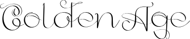 Preview image for GoldenAge Font