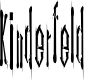 Preview image for Kinderfeld AOE Font
