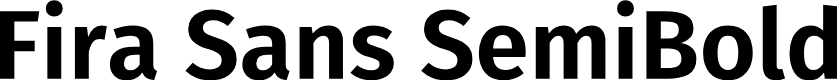Preview image for Fira Sans SemiBold