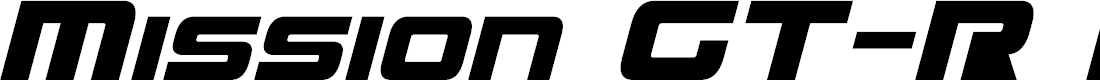 Preview image for Mission GT-R Italic