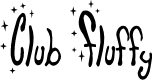 Preview image for Club Fluffy Font