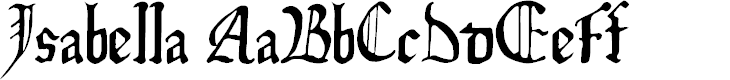 Preview image for Isabella Font