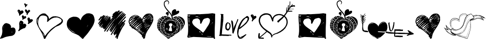 Preview image for MyValentinesLove-demo Font