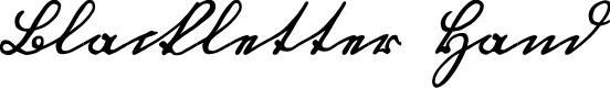 Preview image for Blackletter Hand Font