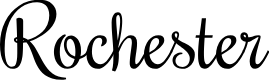 Preview image for Rochester Font