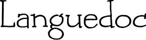 Preview image for DK Languedoc Regular Font