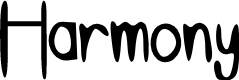 Preview image for Harmony Font