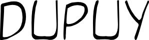 Preview image for DupuyLight Regular