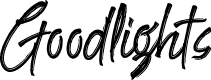 Preview image for Goodlights Font
