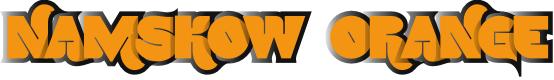Preview image for NamskowOrange Font