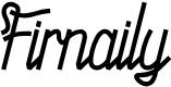 Preview image for Firnaily Font