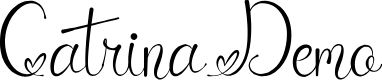Preview image for CatrinaDemo Font