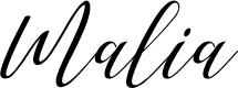 Preview image for love malia art design Font